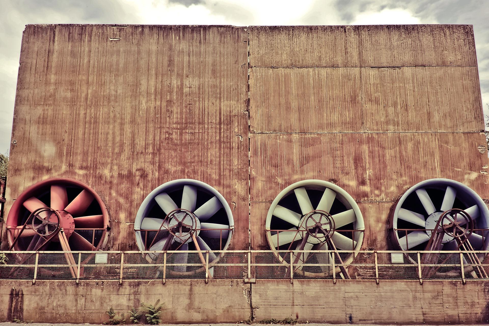 fan ve motor havalandırma sistemleri